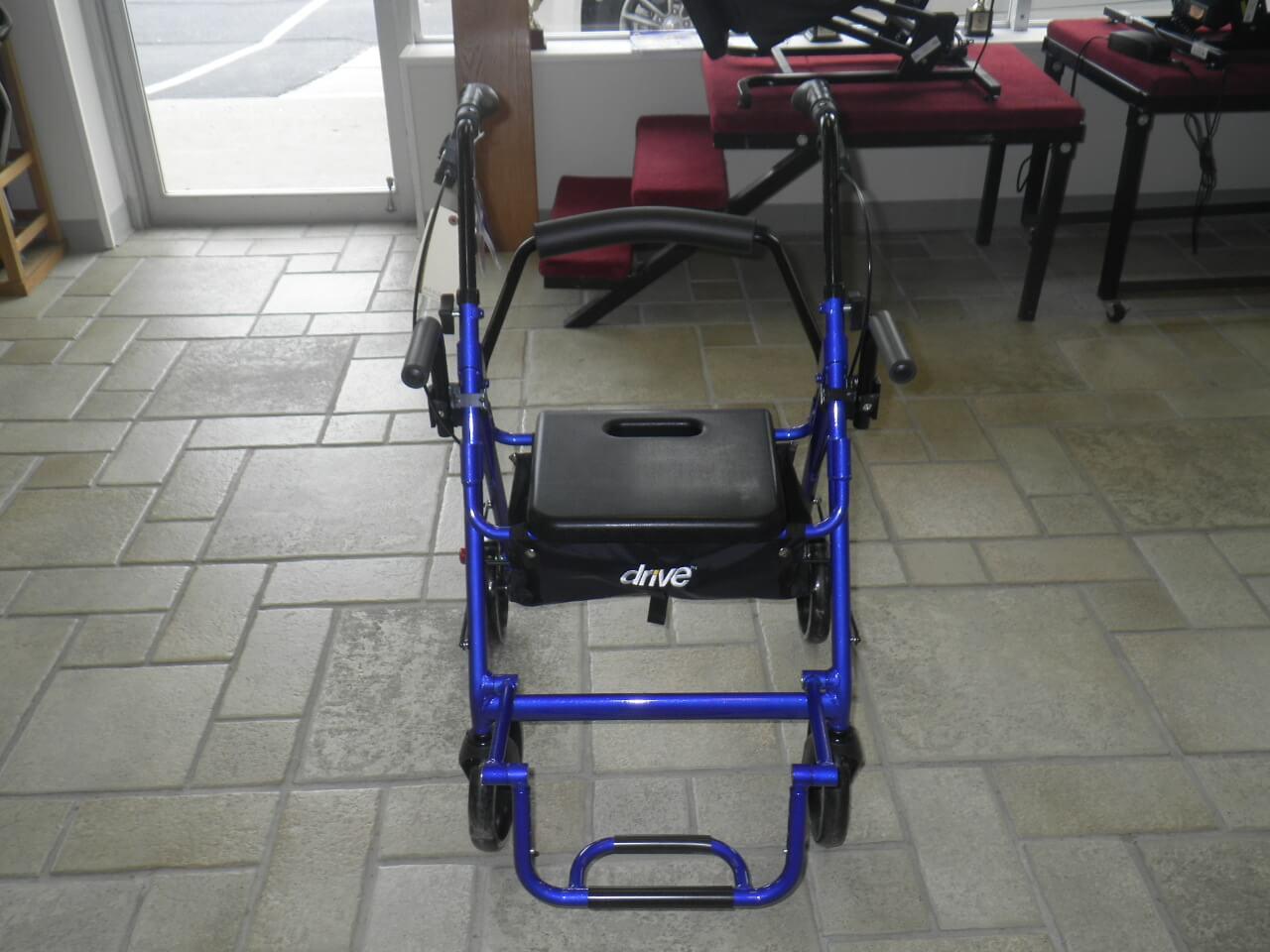 Drive Duet Transport Chair Rollator