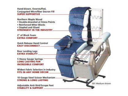 Golden Maxicomfort Cloud Pr510 Series Lift Chair